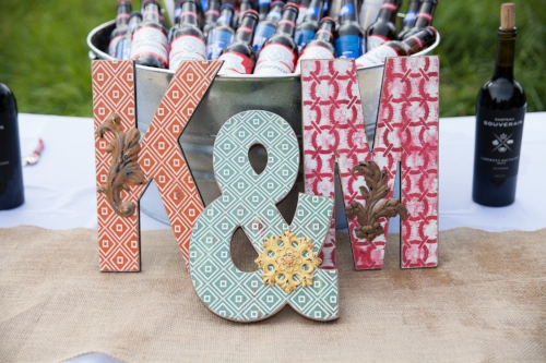 Beer buckets - Pearl Weddings & Events