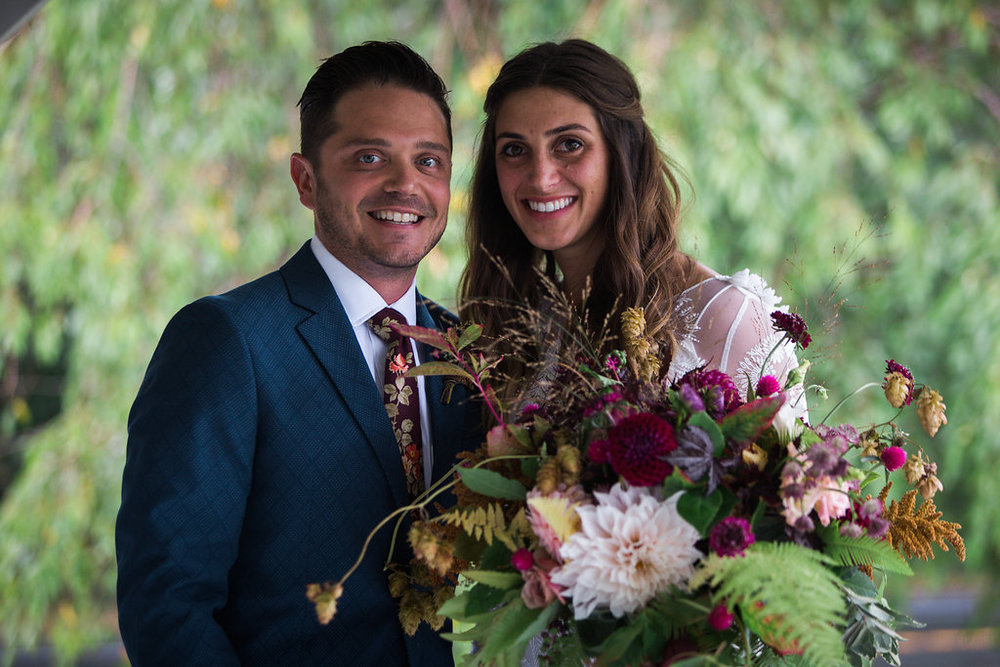 a beautiful couple with the most beautiful hearts - Pearl Weddings & Events