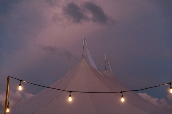 Sperry Tent farm weddings - Pearl Weddings & Events