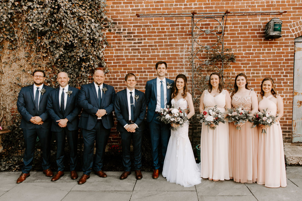 The wedding party photos! - Pearl Weddings & Events