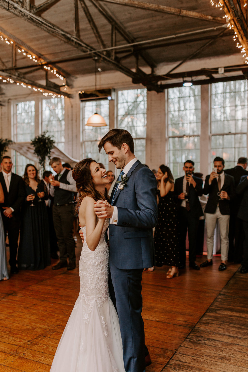 First dance with the bride and groom - Pearl Weddings & Events