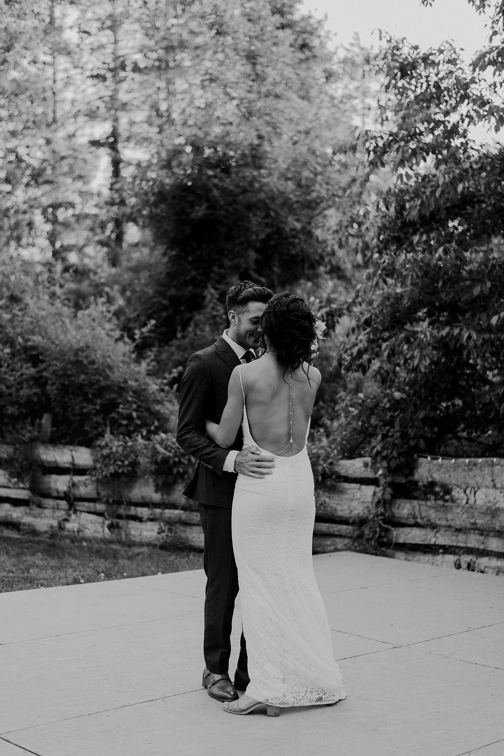 Bride and grooms first dance - Pearl Weddings & Events