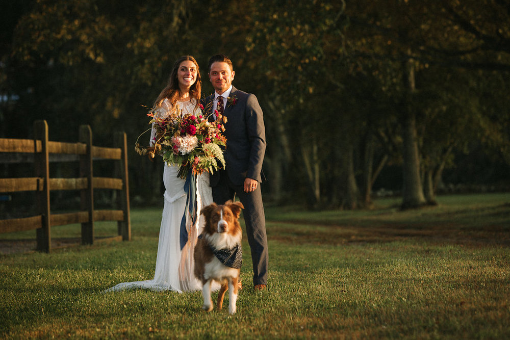 a beautiful family of love and fur babies - Pearl Weddings & Events!