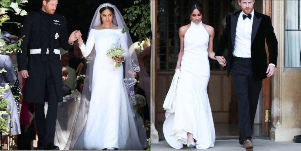 Megan Markel on her wedding day - Pearl Weddings & Events 2019 trends