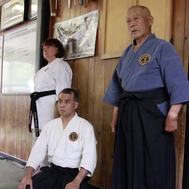 Kiyama Shihan and son Danny Kiyama Sensei
