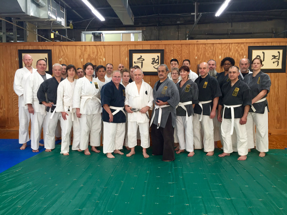 Kim Studio Seminar with Goldberg Sensei