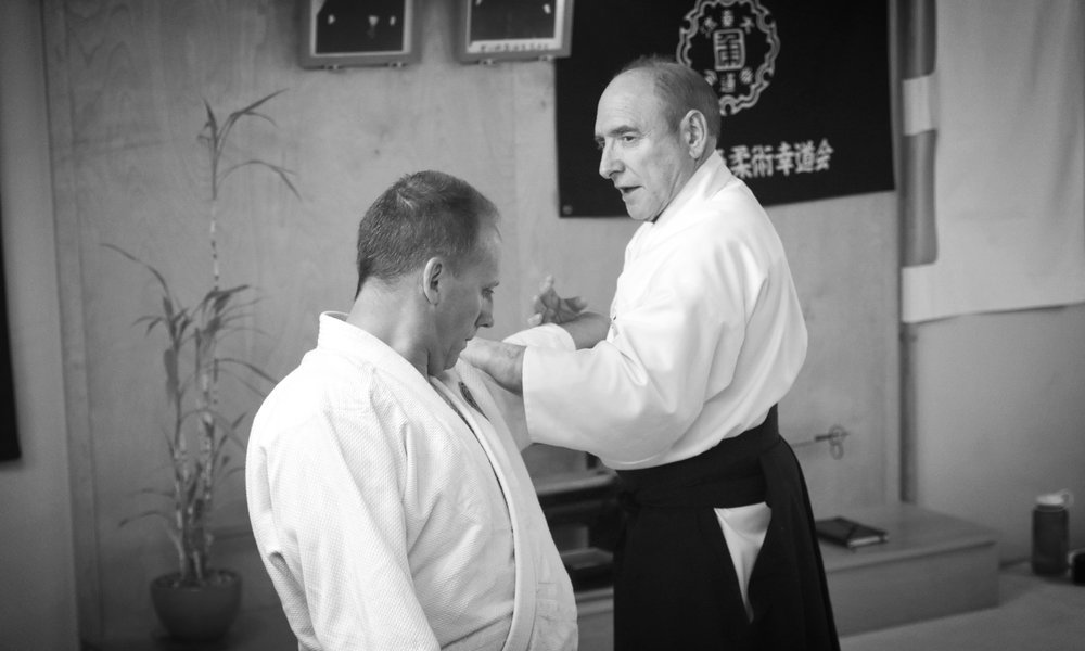 Roy Goldberg Teaching Uchi Te