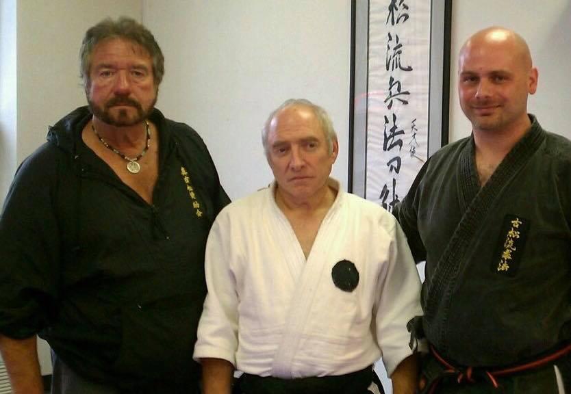 Hanshi Juchnik, Sensei Goldberg and Tony DiSarro