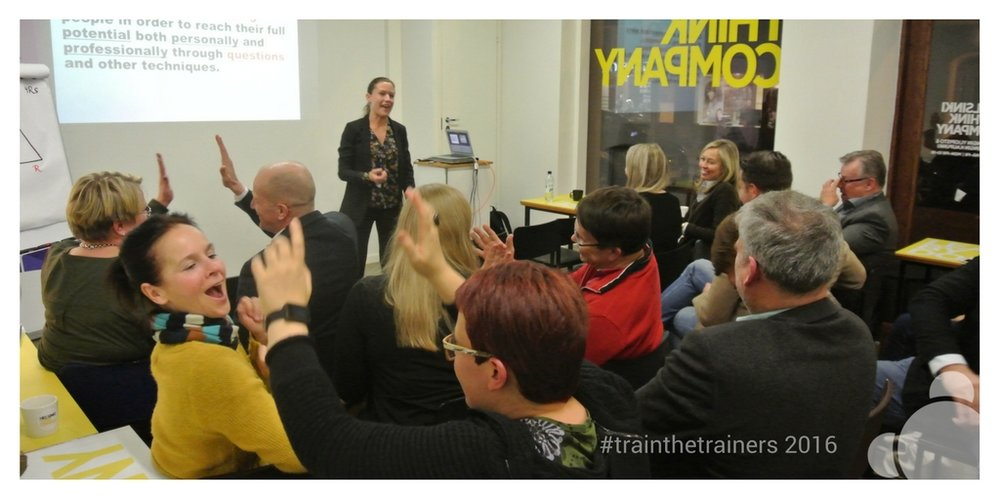 Train the Trainers 2016 was organized on 31 of October in Helsinki