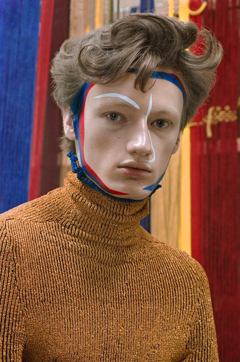 Elena Pirogova-Mares - Maria Egieva look-book, Vogue Russia