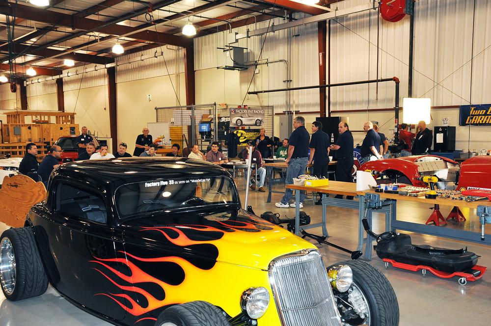 Factory Five Racing Build School