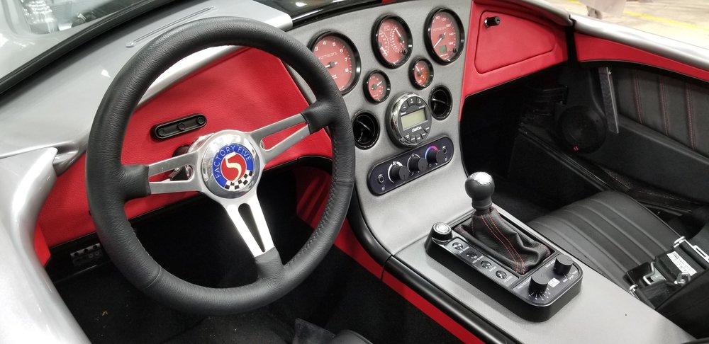FormaCars Custom Car Dash