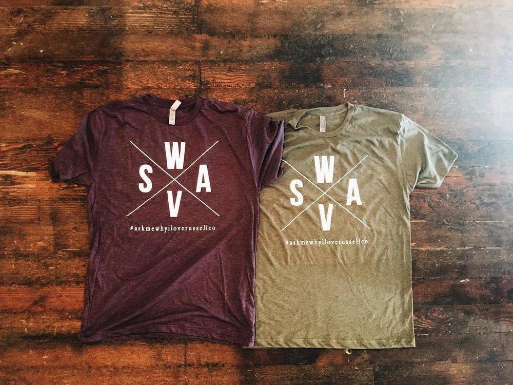 SWVA Design (Purple & Olive)  $15