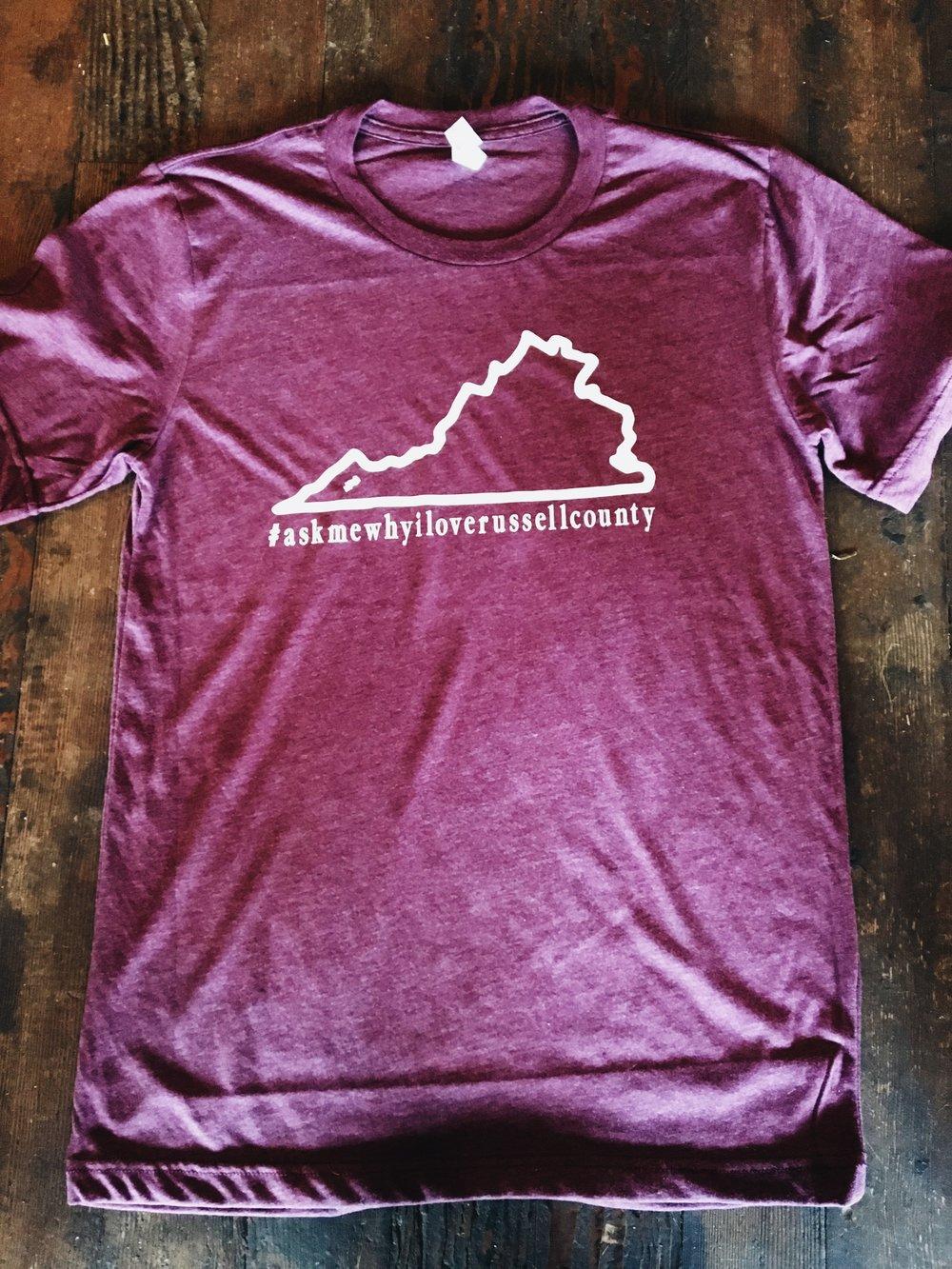Virginia Map Design  $15
