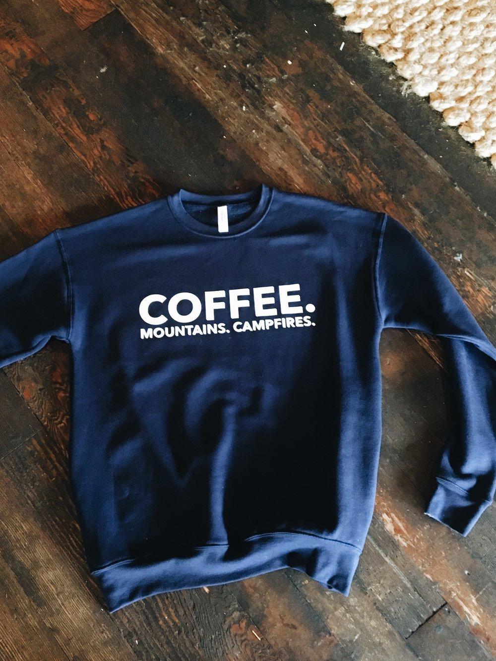 Crew Neck Sweatshirt  $30