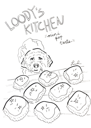 This is Loki, a key part of Loody's Kitchen