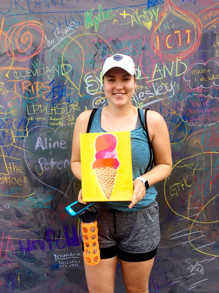 girl with yellow ice cream painting.JPG
