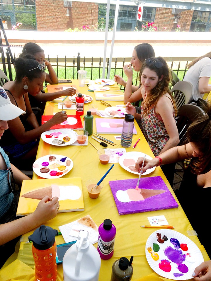 workshop attendees painting.JPG