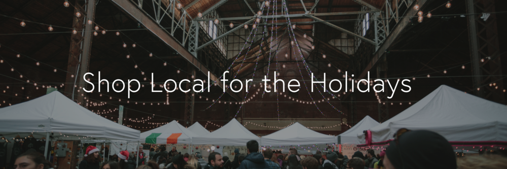Shop local boston winter holiday market