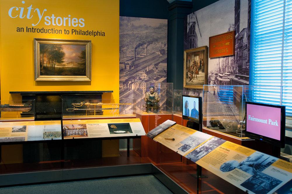 Philadelphia History museum signage