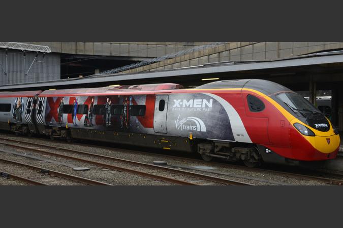 Train wrap