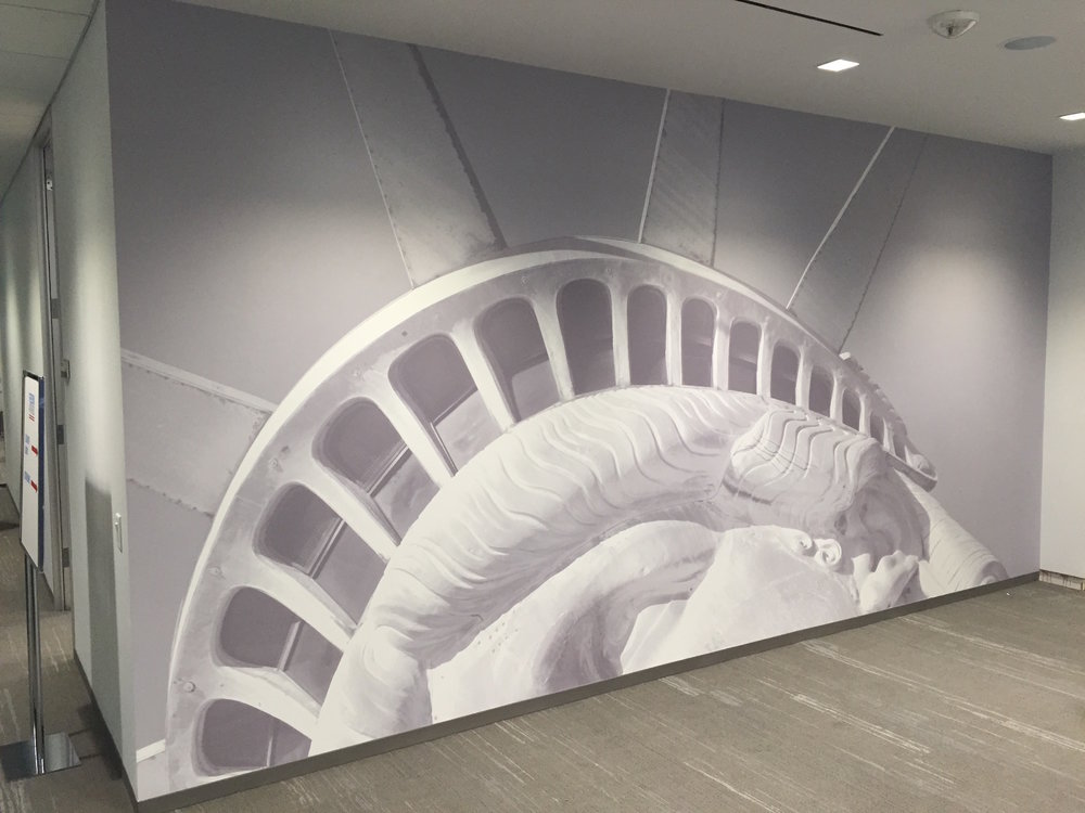 Statue of Liberty wall paper graphics