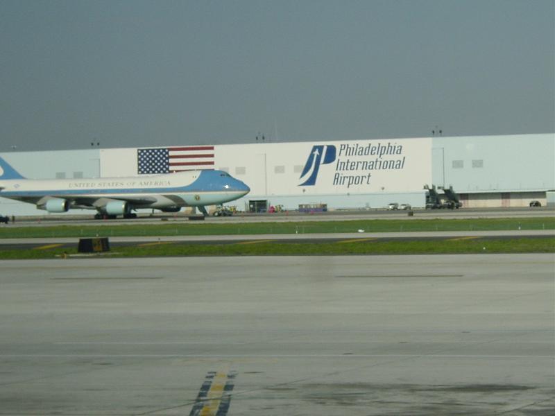 Philadelphia Airport outdoor banners