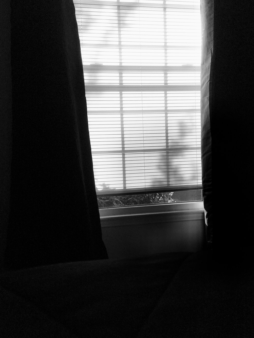 0805 || I make it a point to open the black out curtains in my room and make my bed before I get dressed in the morning. Not entirely sure why though, although my mother always tried to get me to make my bed and I never did growing up.