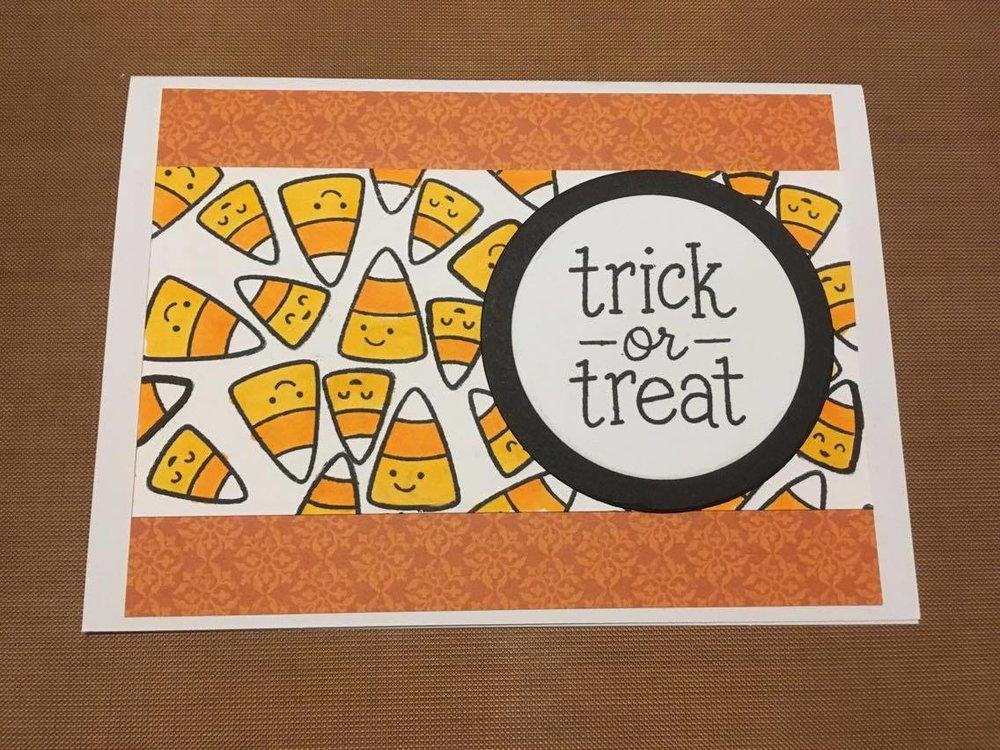 Halloween Card Series 2017 Card 1