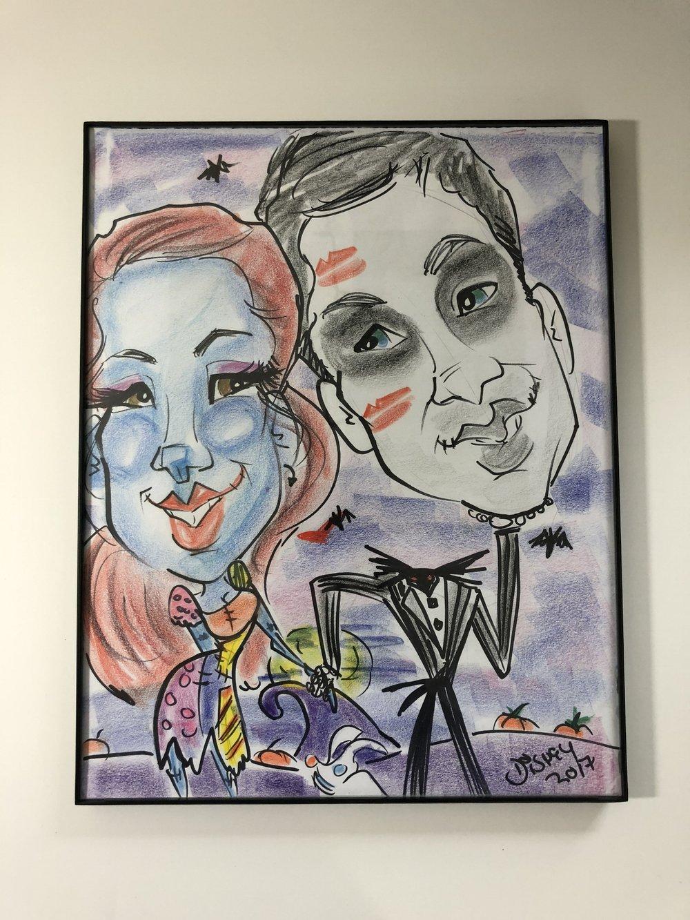 Halloween Caricature