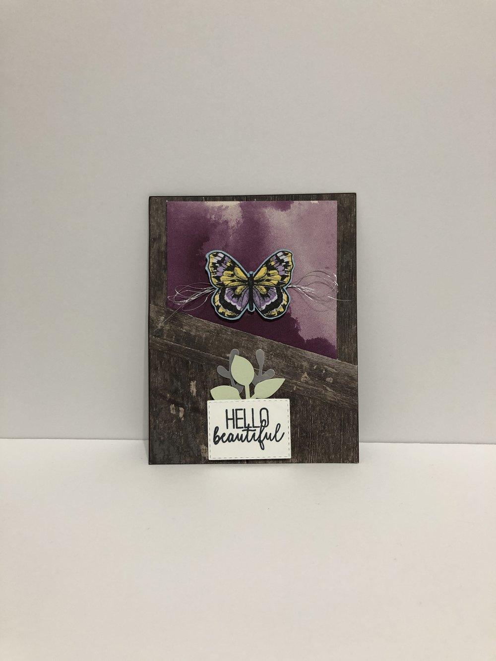 A2 Pocket Card