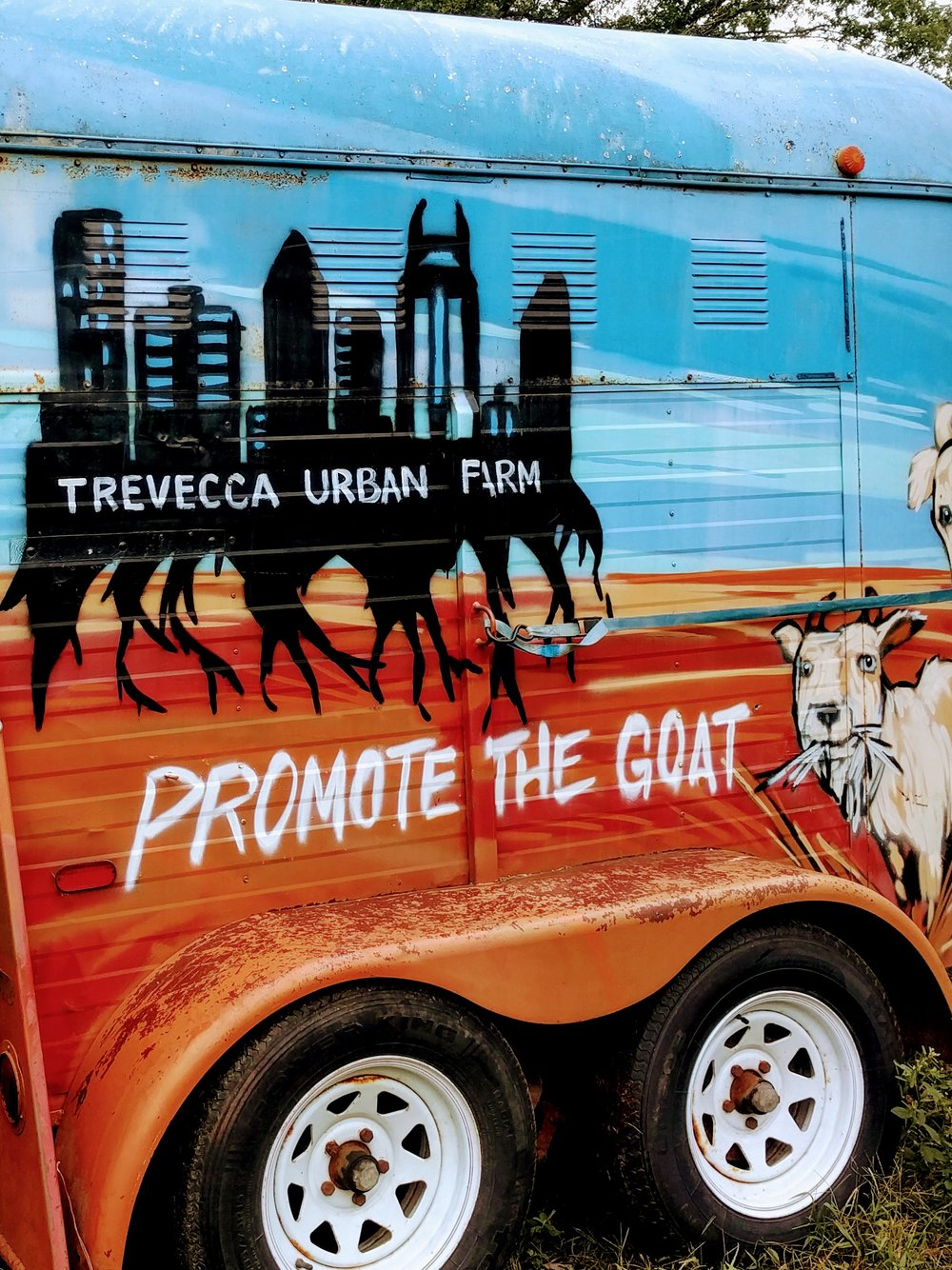 Special thanks to our friends at the Trevecca Urban Farm - for their investment, encouragement, and ongoing support of our project.
