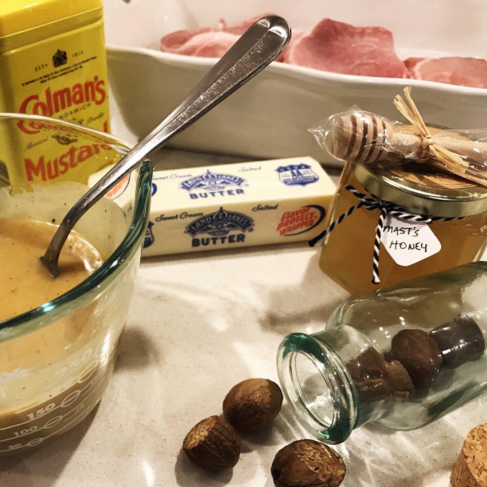 Honey Butter Pork Chops