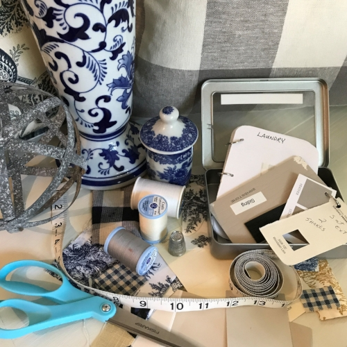 When diving into a home decor project, organization is the key to prevent feeling overwhelmed or frustrated.