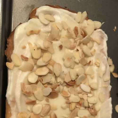I may have been a little overly generous with the almonds, but no one complained.
