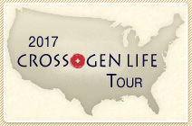 REGISTER OR GET MORE INFORMATION about the 2017 Cross+Gen Life North American Tour
