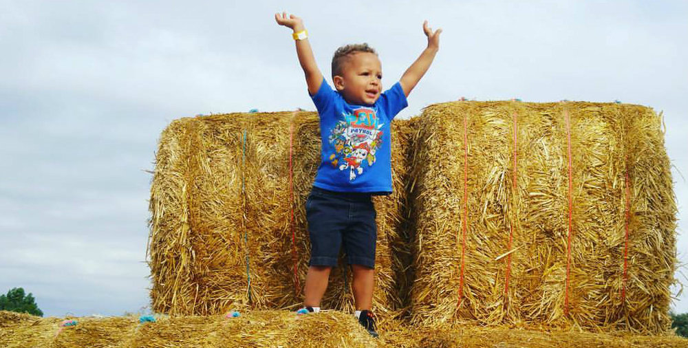 Playing on hay bales Bloom Bright nature.jpg