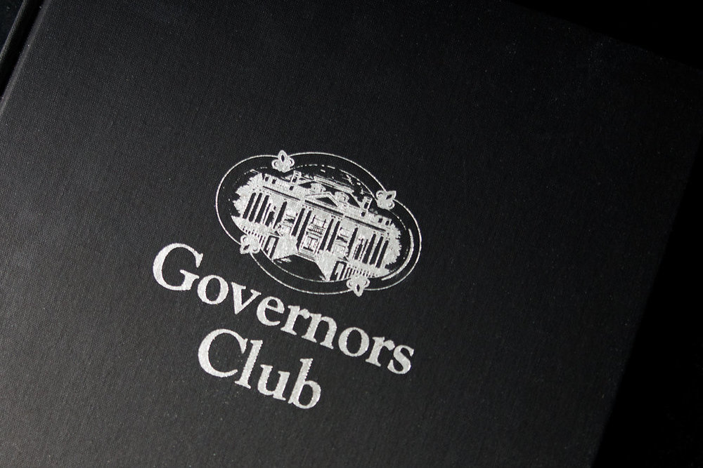 Governors Club commemorative history anniversary book.jpg
