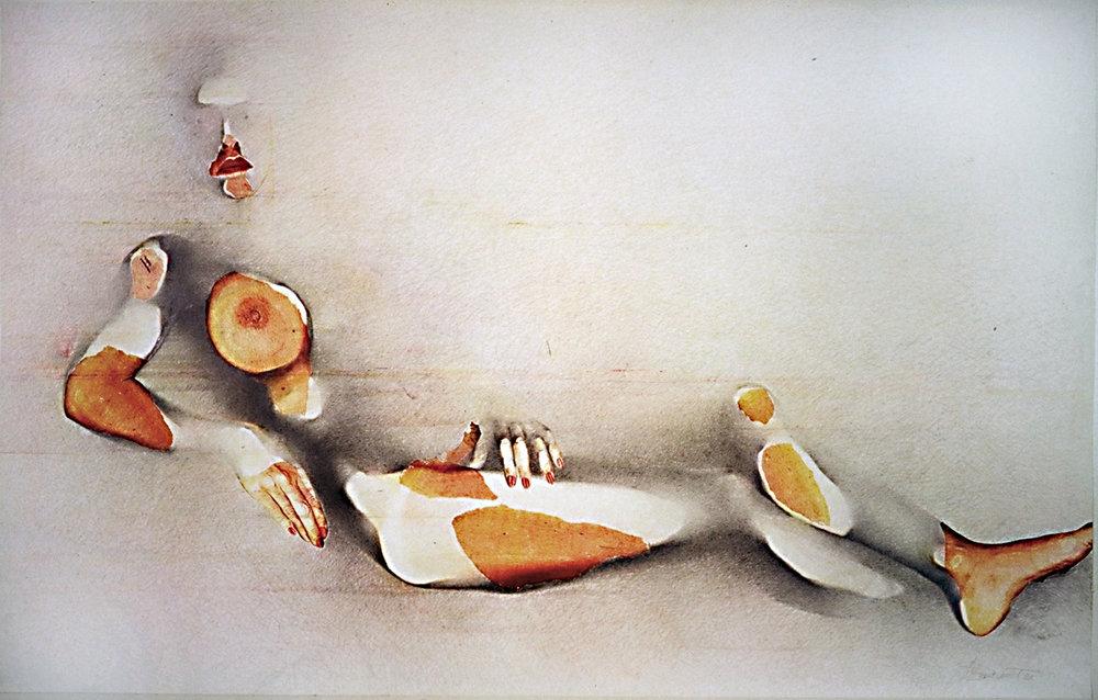 «À la manière de…», 1985 140 x 100 cm (Crédits photo: Andrew Blanchard)