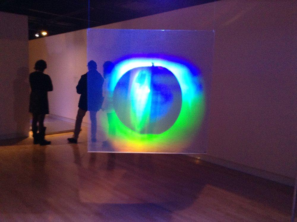 «La conscience des limites (Dédale)», 2013 Exposition au centre Raymond Lasnier, Trois-Rivières, Qc