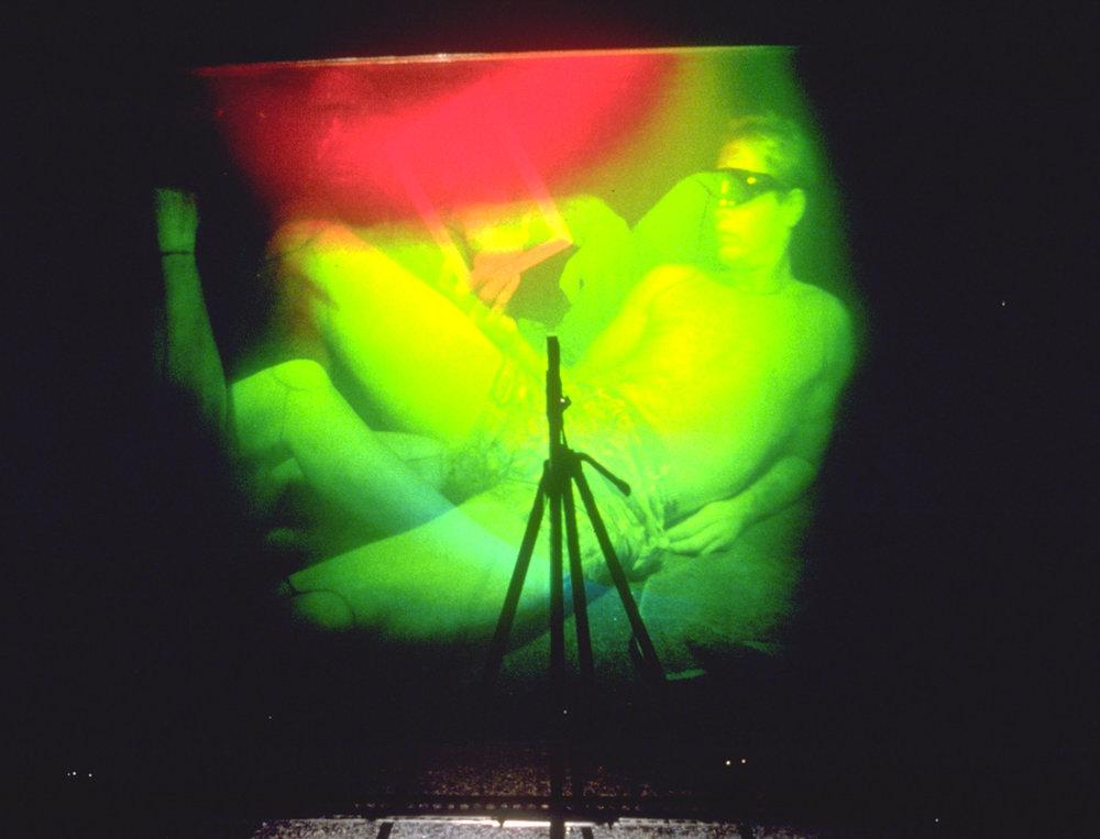 """""""Aire technoculturelle"""", 1991 (hologram No 1)"""