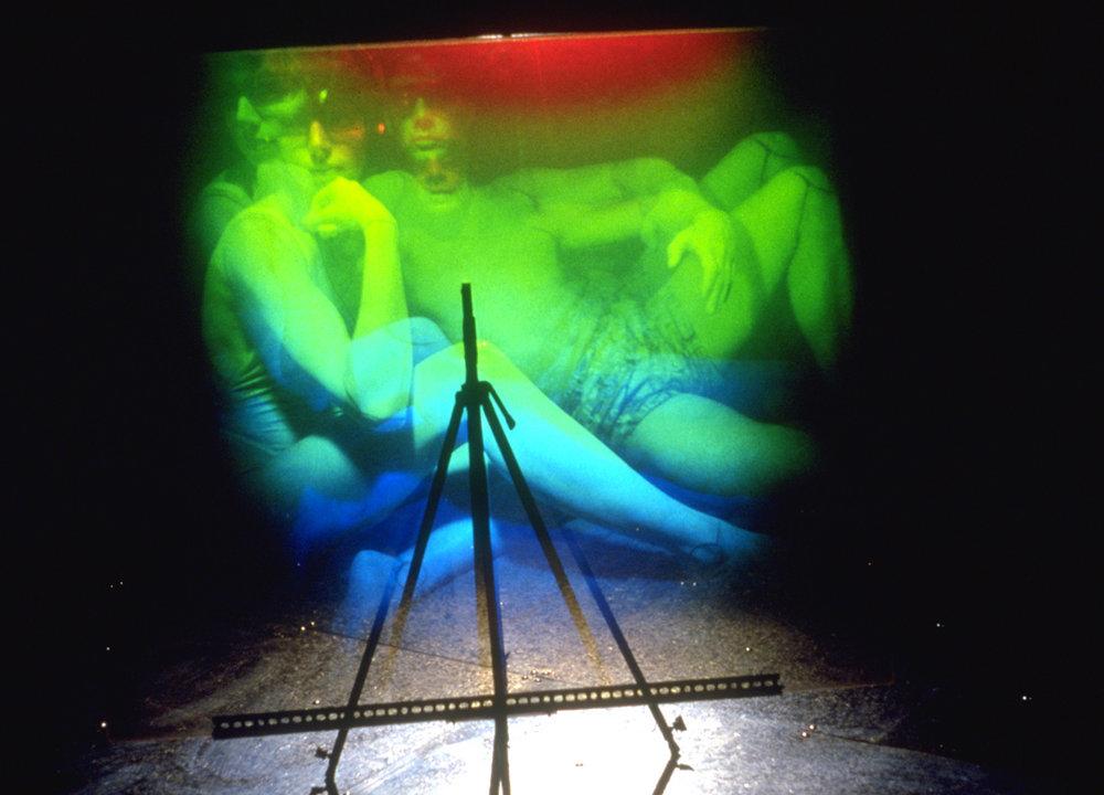 «Aire technoculturelle», 1991 (hologramme No 2)