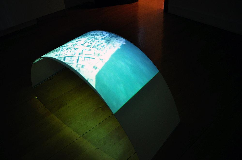 «Confluences», 2009. Exposition à la galerie d'art du Parc, Trois-Rivières, Qc