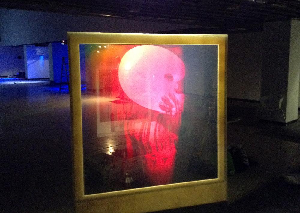 """De Profundis (The artist remediation)"", 1990"