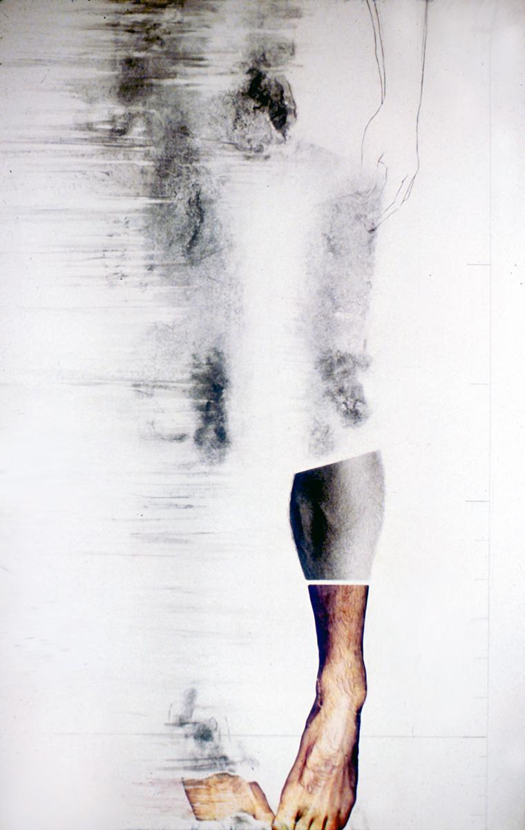 """""""Au regard d'un corps #5"""", 1983  71 x 110 cm"""