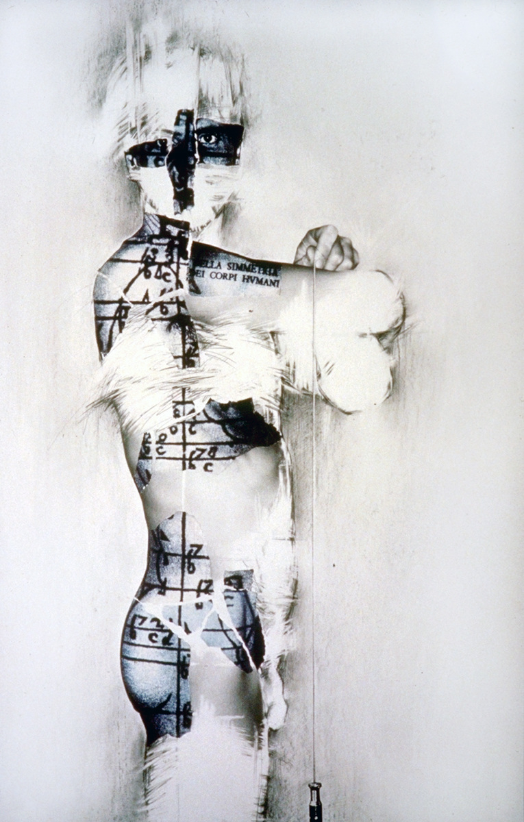 «Au regard d'un corps #10», 1983  71 x 110 cm