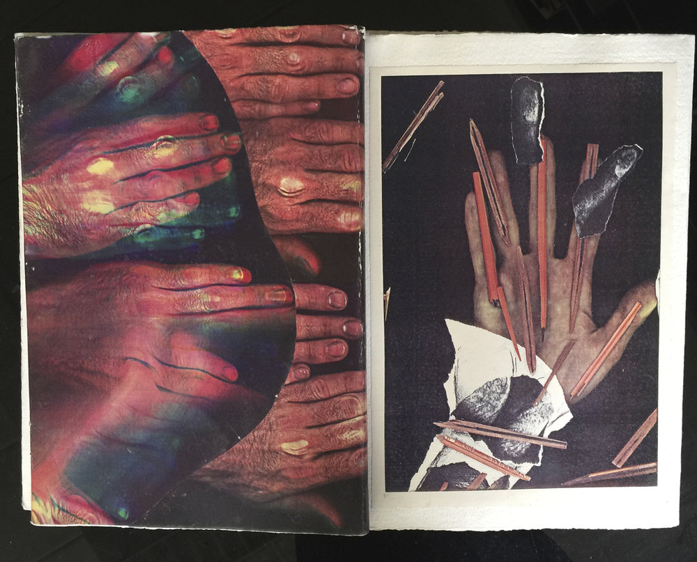 «Main-chinalement», 1984 (livre plié)