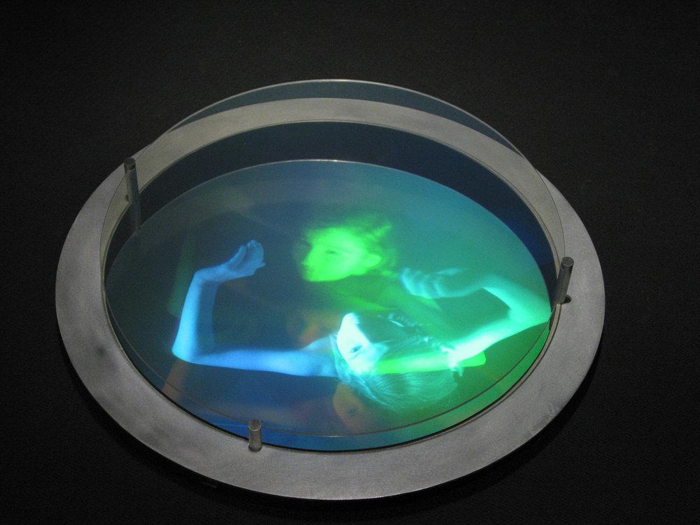 """""""Efflorescence"""", 2002   (hologram No 1)"""