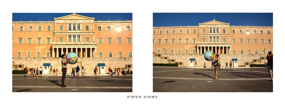 Athènes (Place Syntagma) - 2014