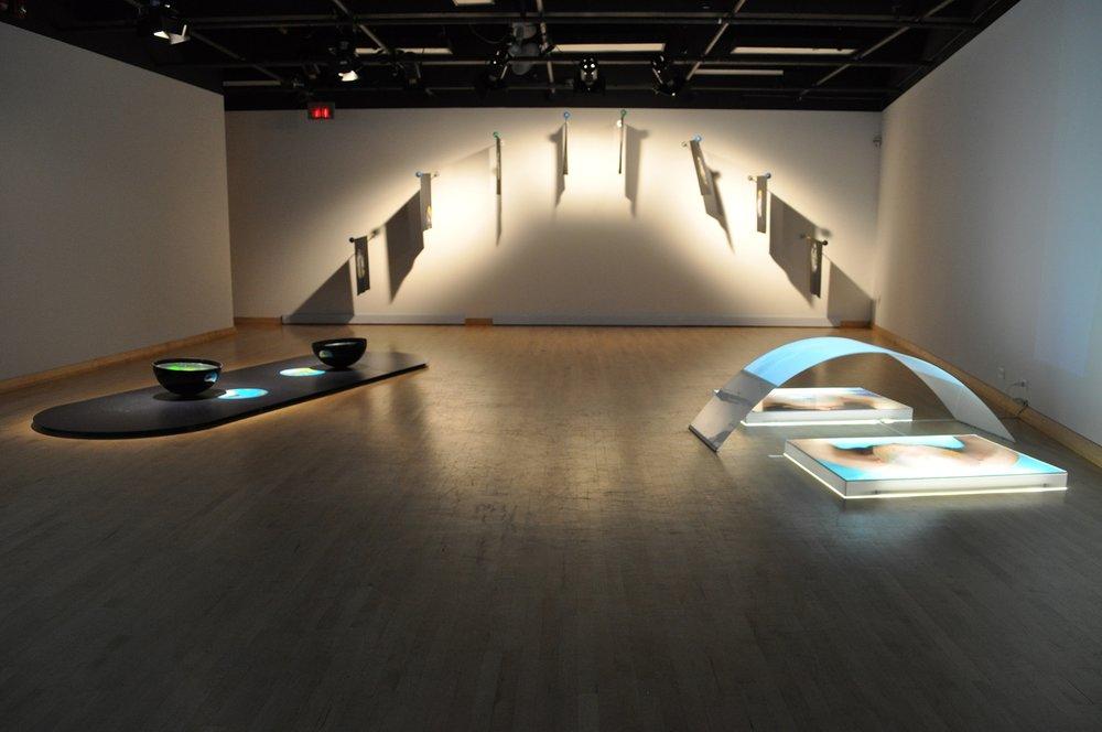 Installations holo-photo-vidéographiques réalisées entre 2007 et 2010